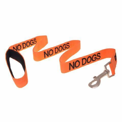 FDC - No Dogs  Standard 120cm Lead