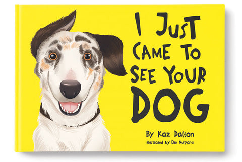 I just came to see you dog - Animated Book