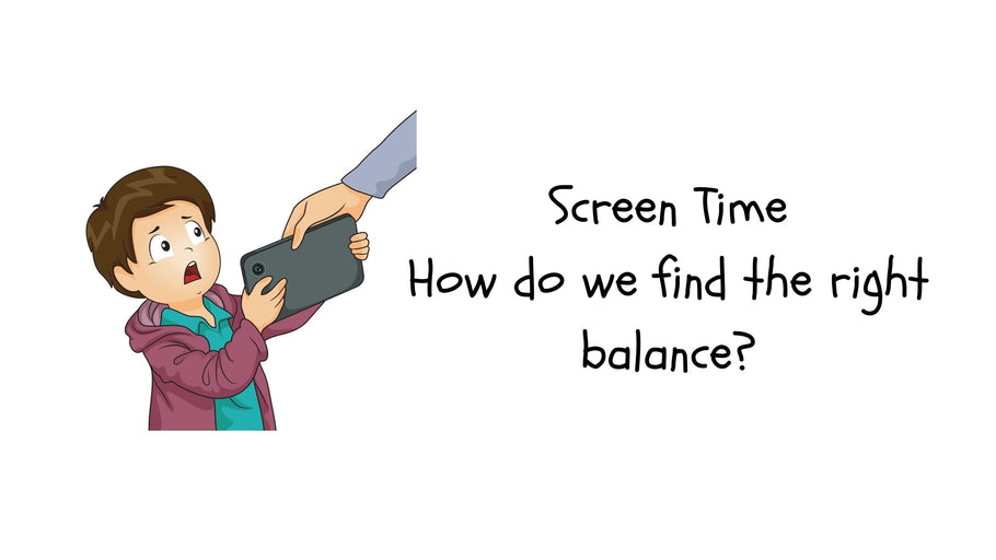 Screen Time - How do we find the right balance?