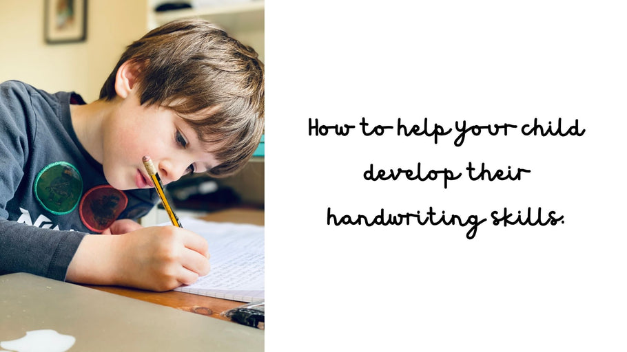 How to help your child develop their handwriting skills!