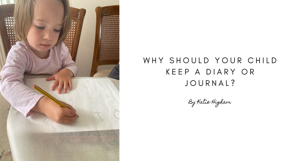 Why should your child keep a diary or journal?