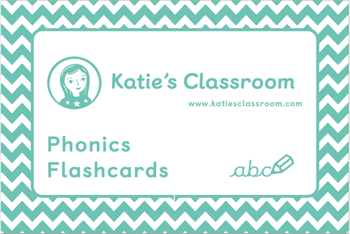 Pre-order Phonics Flashcards