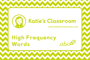 Pre-order High Frequency Words