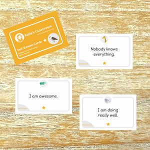 Self-Esteem Cards