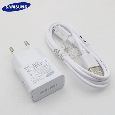 Samsung 15W 2A Fast Charging Adapter with Micro USB Cable