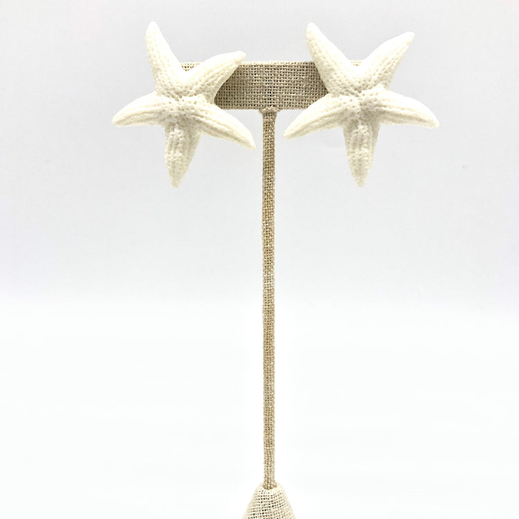 Starfish Stud (White)