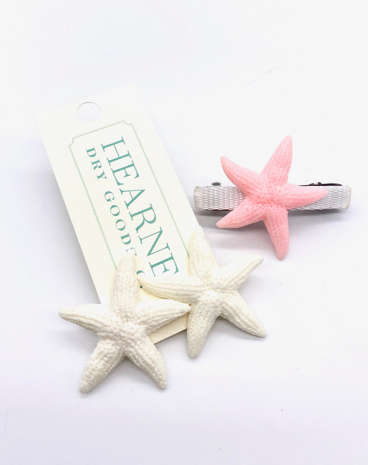 Mommy & Me Combo Set - Starfish - White