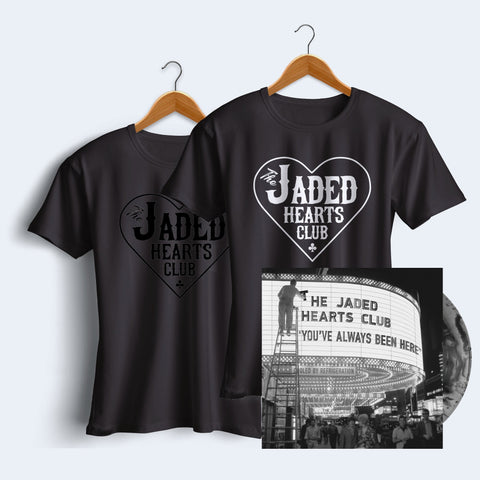 You've Always Been Here Marble LP + Jaded Hearts Club T-Shirt