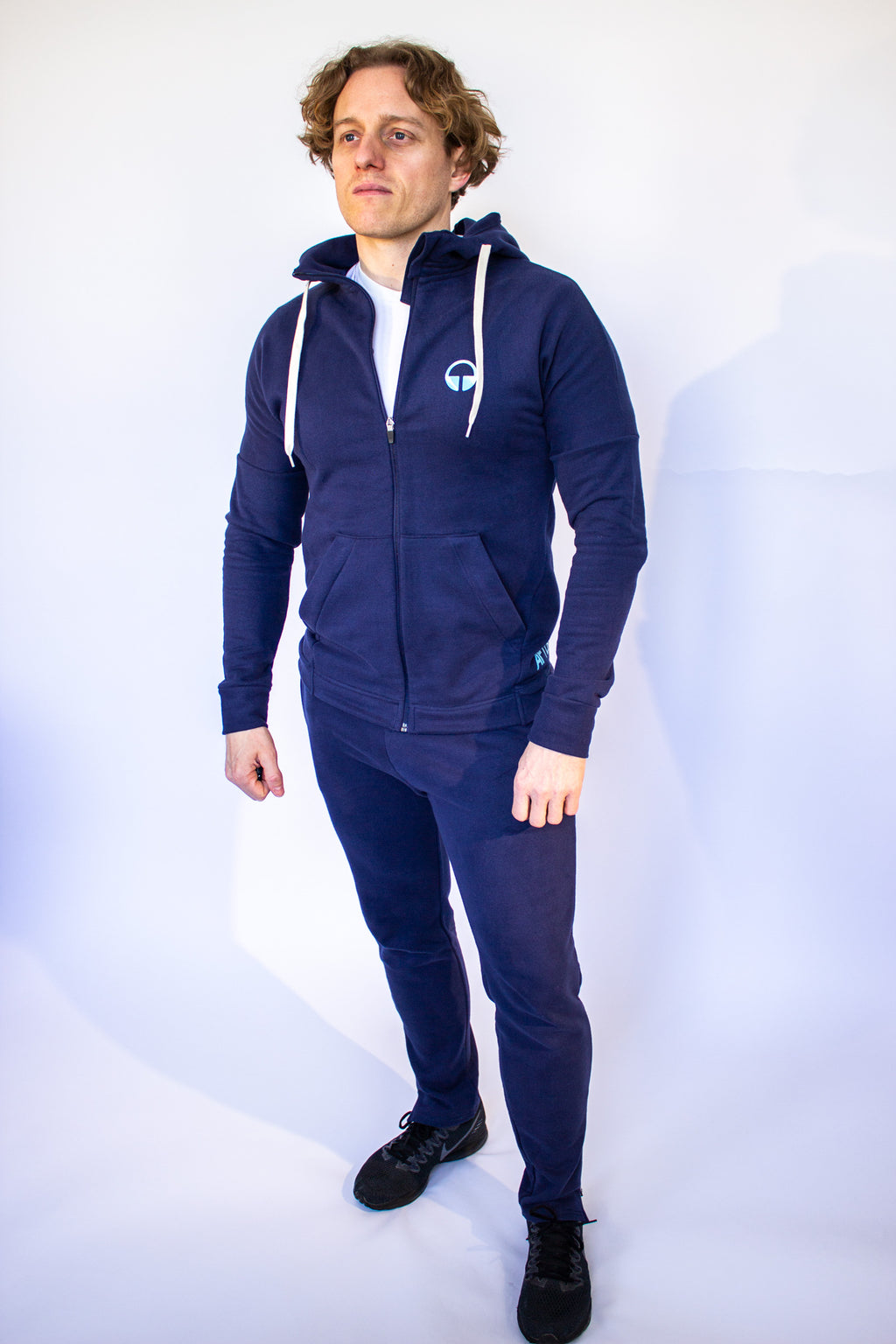 Men's Synapse Hooded Top - Navy