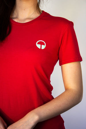 Women's Euphoric T-shirt - Red
