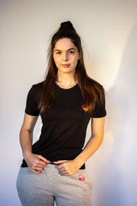 Women's Euphoric T-shirt - Black