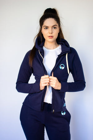 Women's Synapse Hoodie - Navy