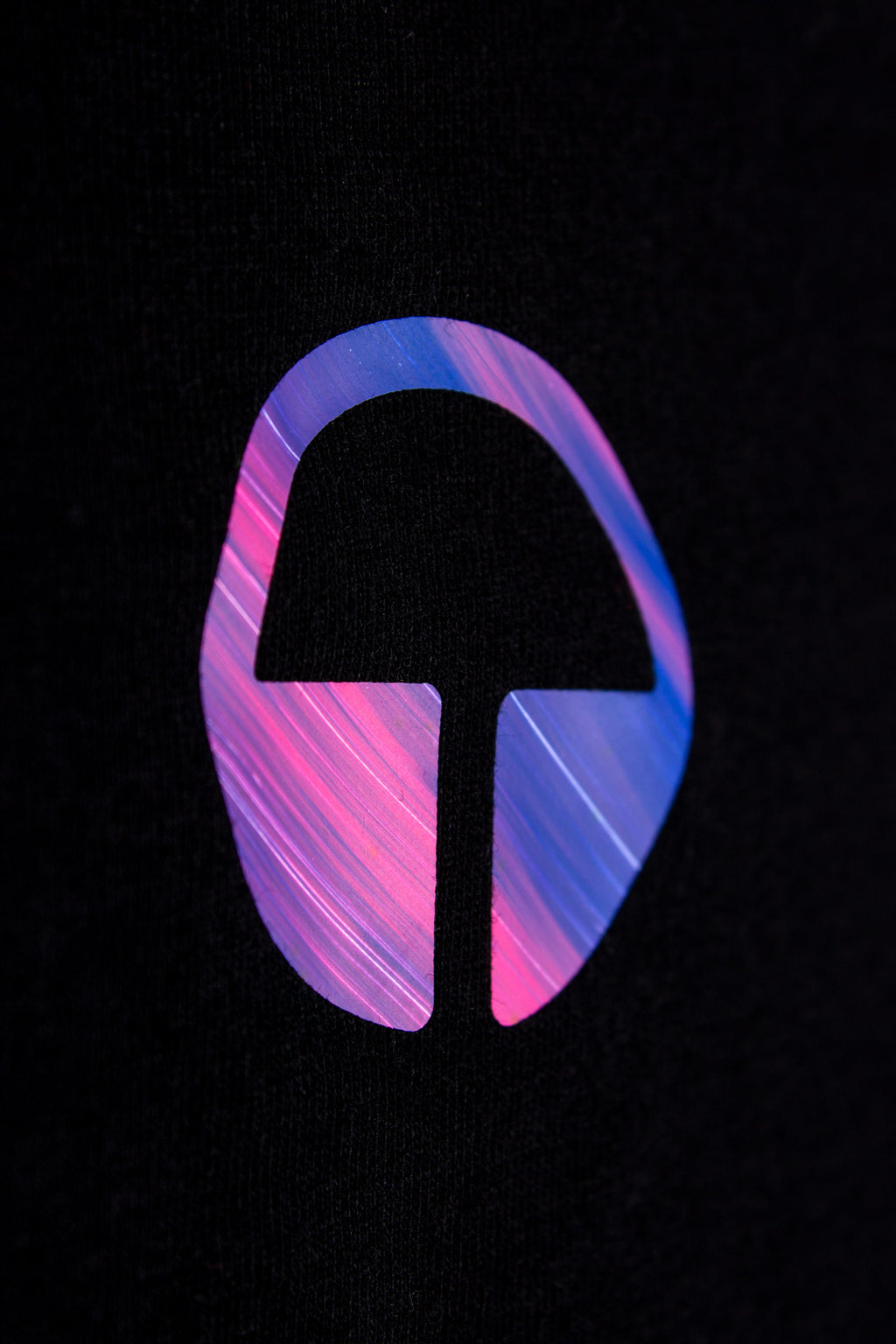 Element Tee - Black with Nebula Pink