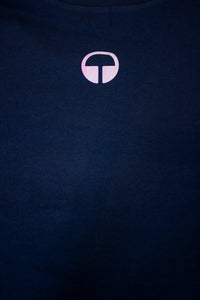Element Tee - Navy with Twighlight Mist