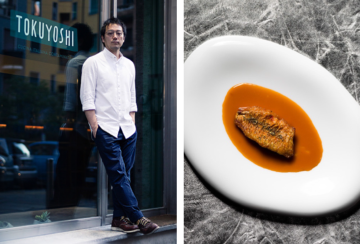 Yoji Tokuyoshi – An Italian chef from Japan