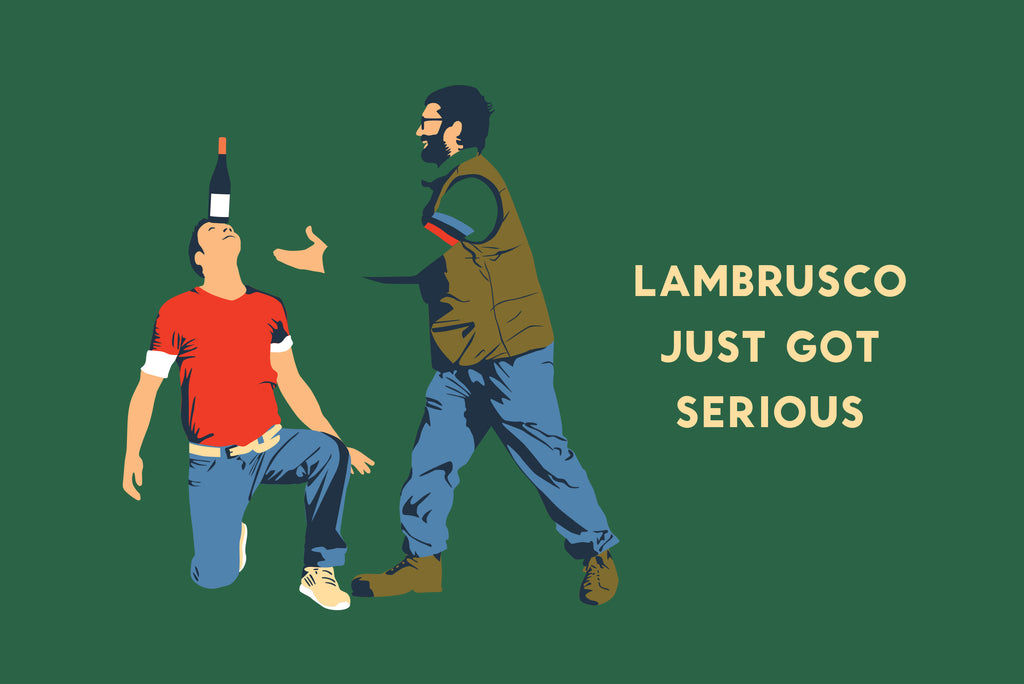 Lambrusco Just Got Serious – Poedere il Saliceto