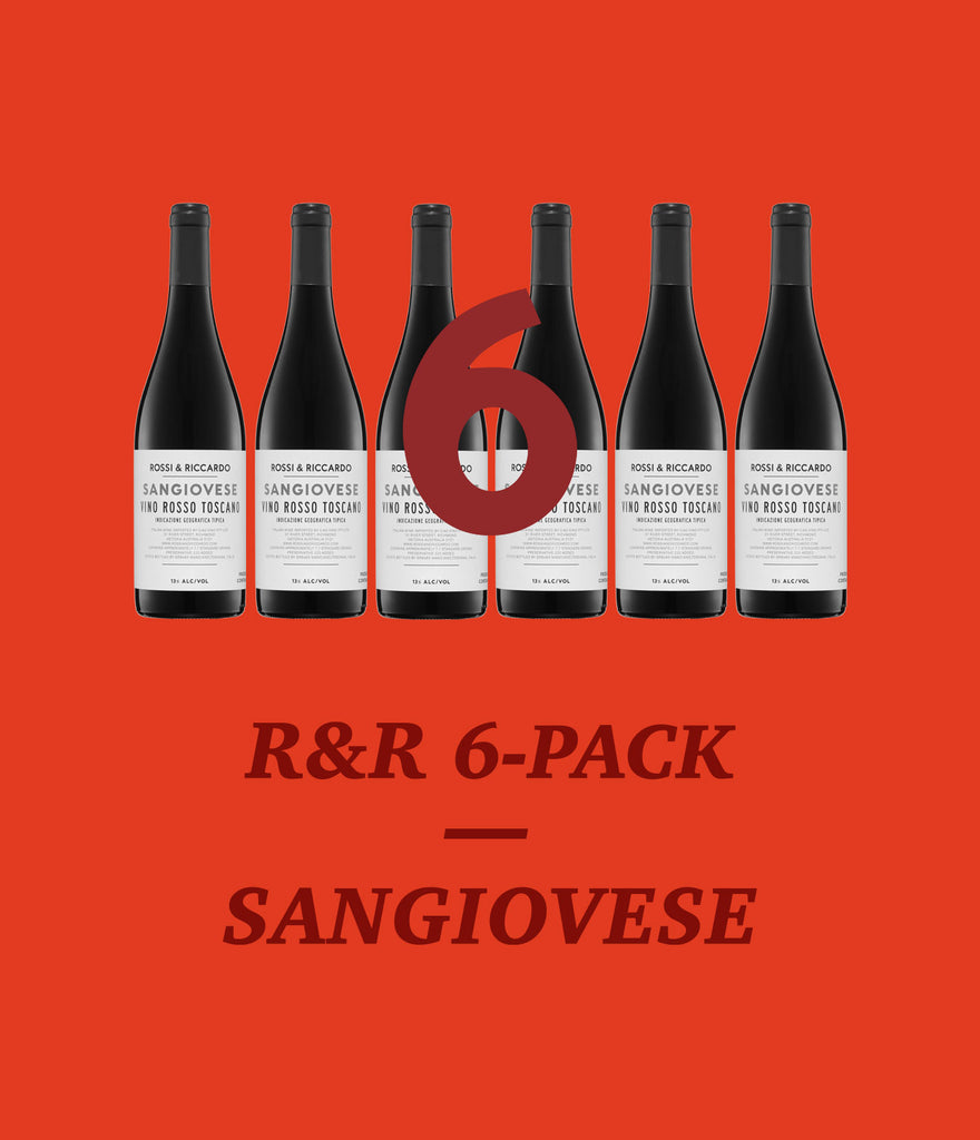 R&R Sangiovese Pack – 25% Off!