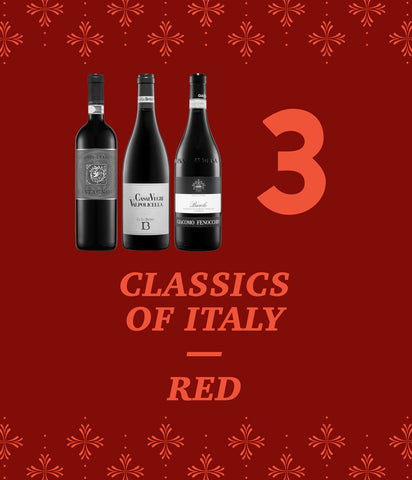 Classics of Italy – Red 3-Pack – 25% Off!