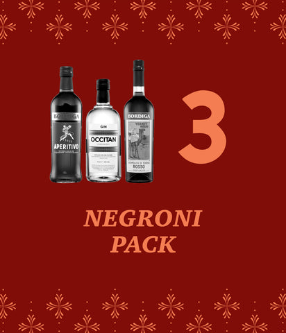 Negroni 3-Pack – 25% Off!