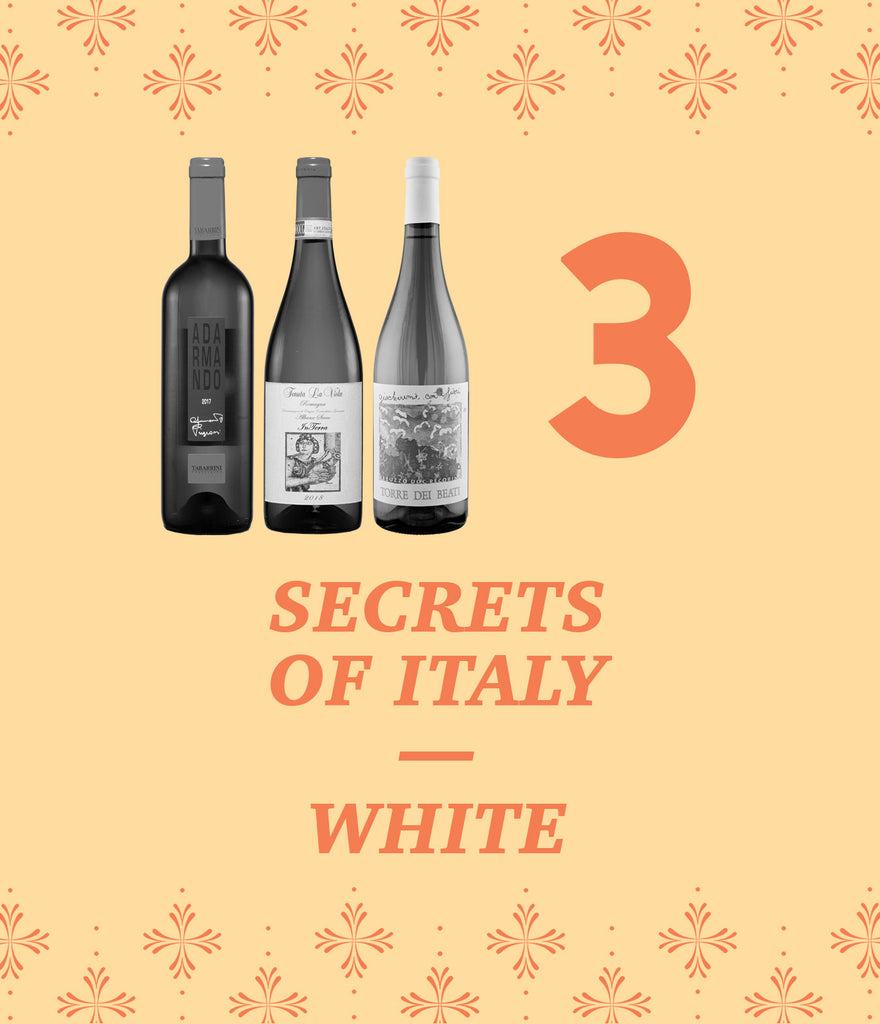 Secrets of Italy – White 3-Pack – 25% Off!