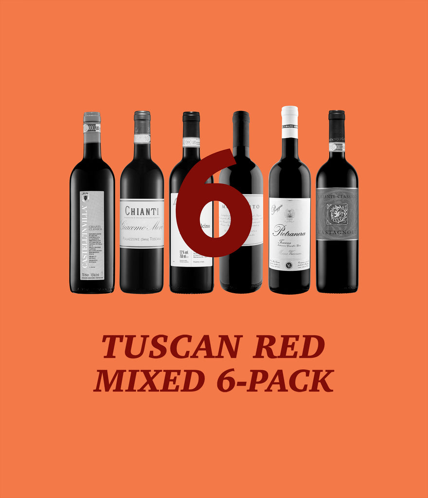 Tuscan Red Pack – 25% Off!