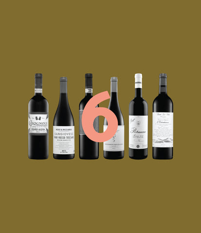 Sangiovese Sampler – Mixed 6-Pack