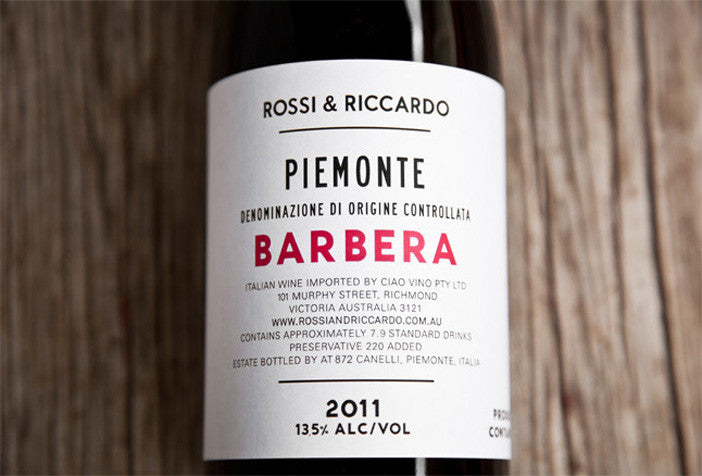 Barbera Italian Red Wine