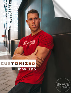 Men's 12 Weeks Customized Program
