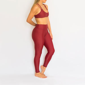 Leggings - Bordo