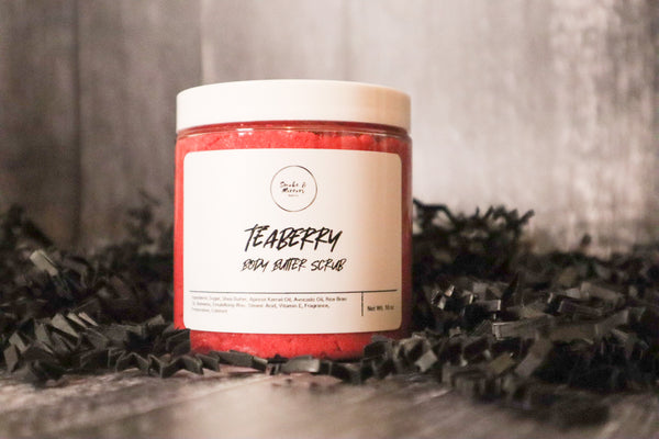 Teaberry Body Butter Scrub