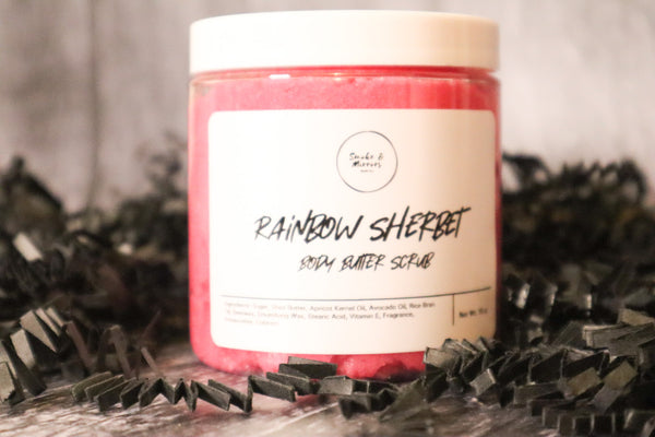 Rainbow Sherbet Body Butter Scrub