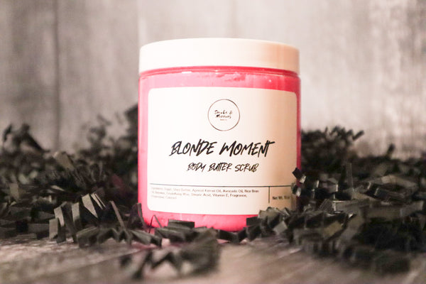 Blonde Moment Body Butter Scrub