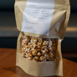 Caramel & Kombu Butter Popcorn Package (2 packets)