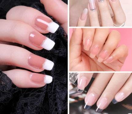 What technique should I use for nail enhancement?