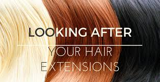How to take care of your hair extension?