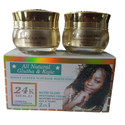 2 In 1 Day & Night All Natural Glutha & Kojic Cream