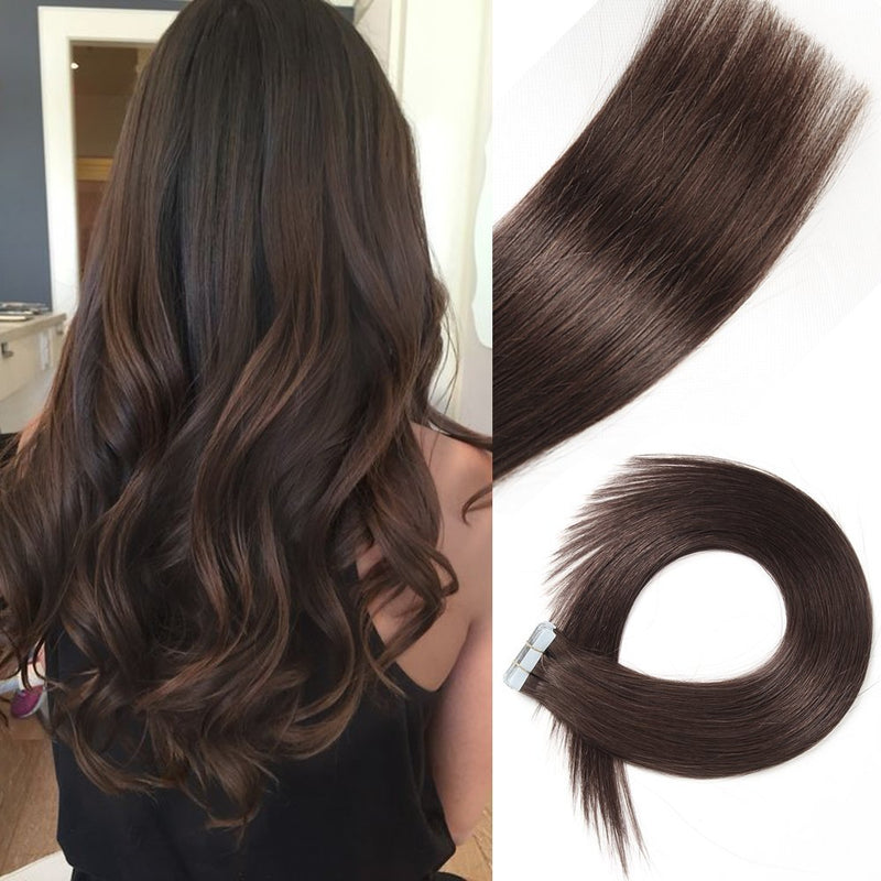 "18"" Straight Double Drawn (A++) Vietnamese Human Hair weft"
