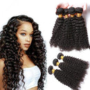 "18"" 8A Grade kinky curly Brazilian Virgin Human Hair"