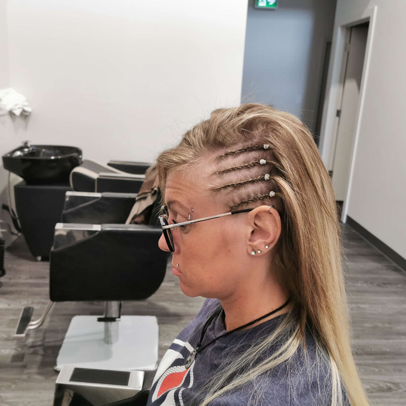 Side Cornrow Braids