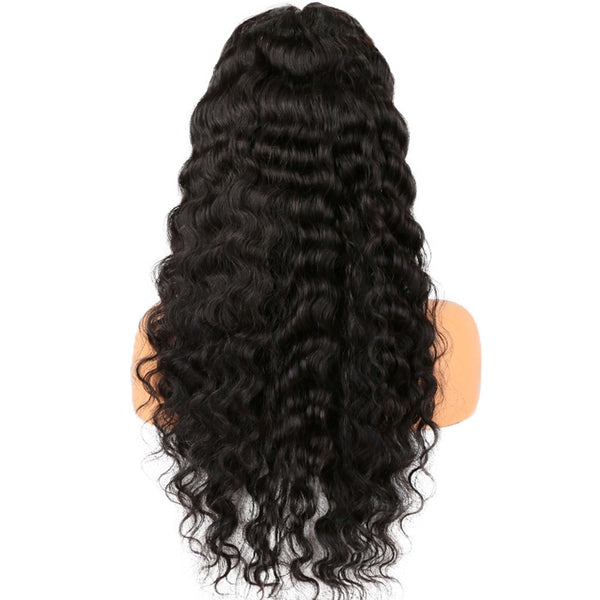 "20"" Deep wave Vietnamese Human Wigs Frontal Lace"