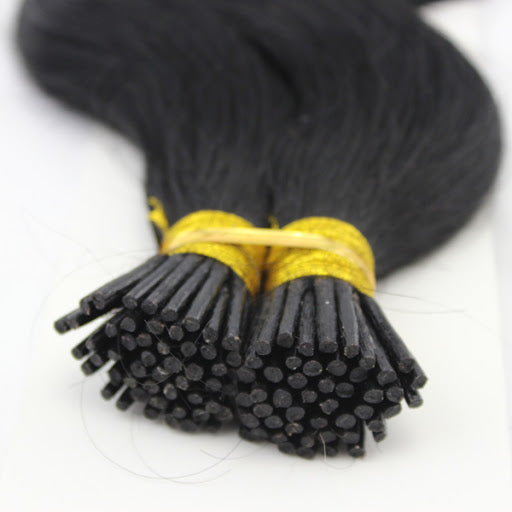 "18"" I-tip Vietnamese Hair extension black"