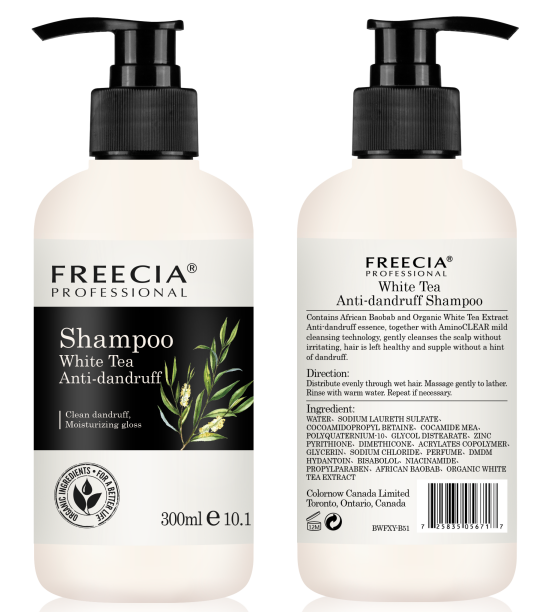 Freecia Professional Shampoo White Tea Dandruff