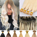 "24"" I-tip Vietnamese Hair extension blonde"