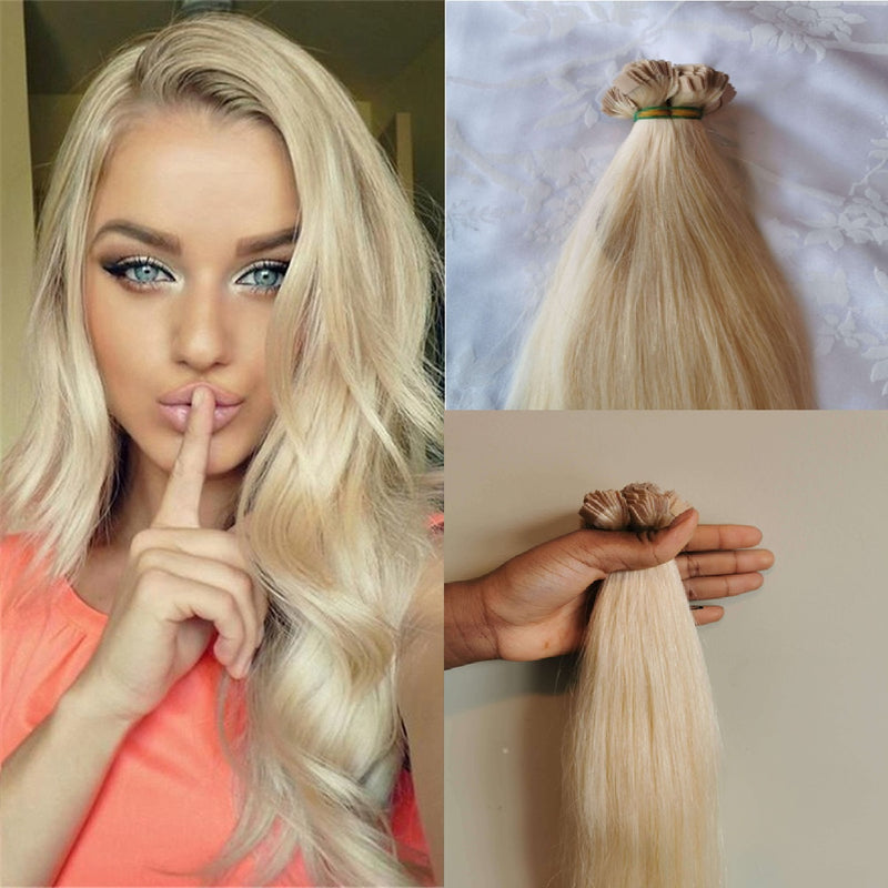 "24"" Straight Vietnamese Human Hair Tapes Extension blonde colors"
