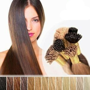 "20"" I-tip Vietnamese Hair extension brown"