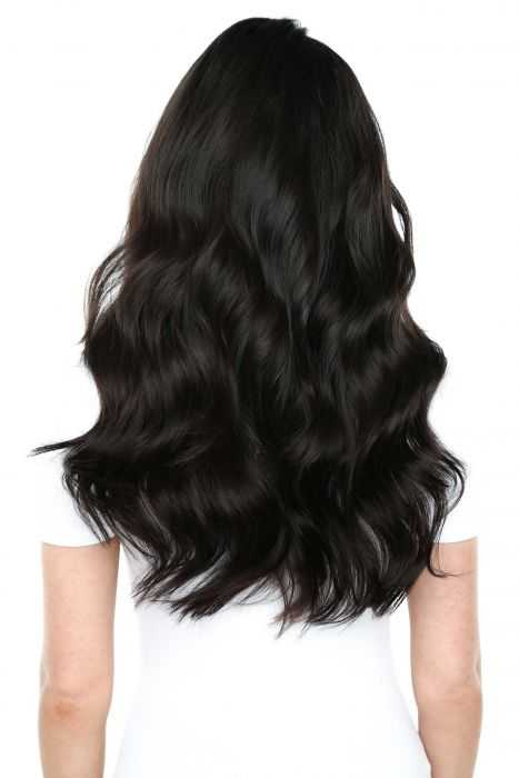 "16"" Tapes Straight Vietnamese Human Hair Extension dark colors"