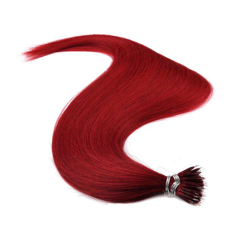 "20"" Nano Link Vietnamese red Hair extension"