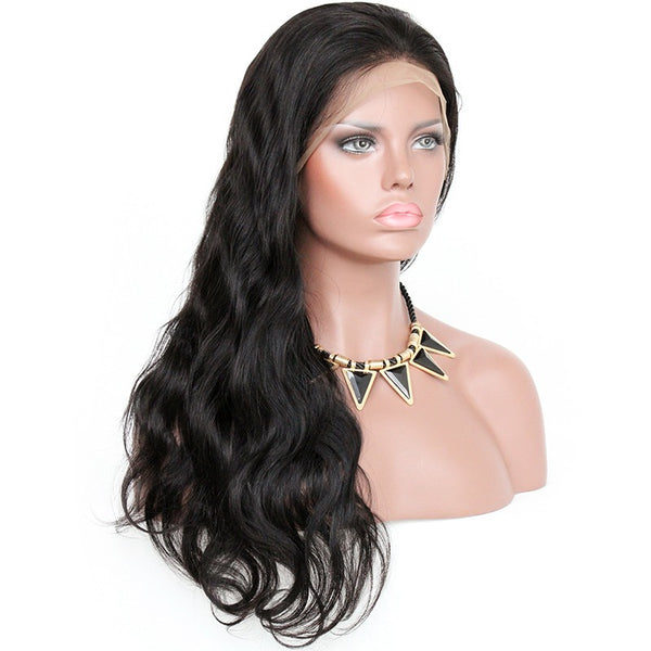 "24"" Body wave Vietnamese Human Wigs Frontal Lace"