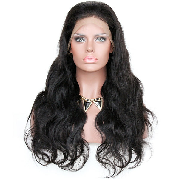 "22"" Body wave Vietnamese Human Wigs Frontal Lace"