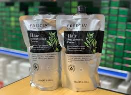 Freecia Professional Hair Straightening Cream 1 and 2